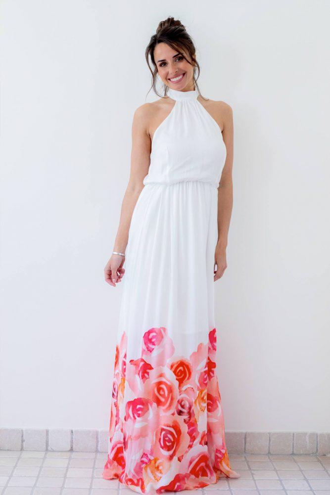 robe-longue-à-fleur